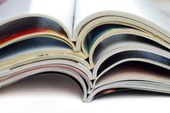 Tijdschriften royalty-vrije stock afbeeldingen