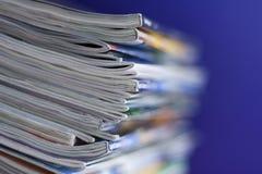 Tijdschriften stock afbeeldingen