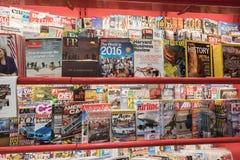 Tijdschriften stock foto's