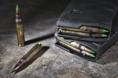 Tijdschriften en munitie Royalty-vrije Stock Fotografie