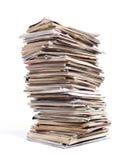 Tijdschriftstapel stock afbeelding