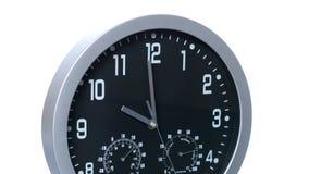Tijdspanne van de klok versnelde de Snelle Tijd 01 stock footage