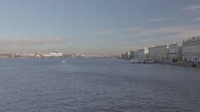 Tijdtijdspanne Cinestyle Heilige Petersburg stock footage