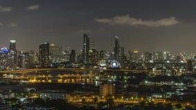 Tijdtijdspanne 4k: Cruise in Chao Phraya River Through Bangkok stock videobeelden