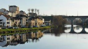 Tijdtijdspanne in Limoges, Frankrijk stock footage