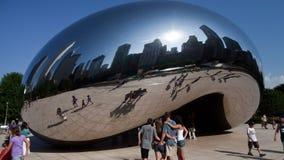 Tijdtijdspanne van de Boon van Chicago stock footage