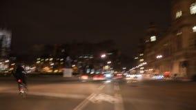 Tijdtijdspanne van een reis rond Huizen van het Parlement & Centraal Londen stock footage