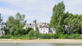 Tijdtijdspanne van Orléans, Frankrijk stock video