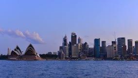 Tijdtijdspanne van Sydney stock footage