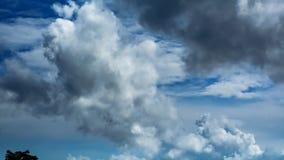 Tijdtijdspanne van wolken stock video