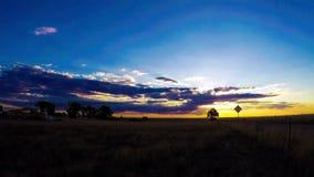 Tijdtijdspanne van zonsopgang stock video