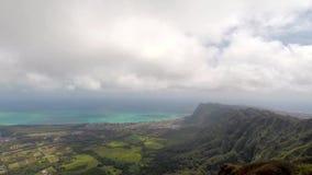 Tijdtijdspanne van Zuid-Oahu stock videobeelden
