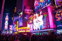 Tijdvierkant, de stad van New York stock foto's