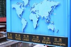 Tijdzone Stock Afbeelding
