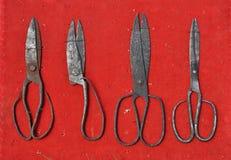 Tijeras antiguas. Foto de archivo libre de regalías