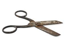 Tijeras oxidadas Imagen de archivo