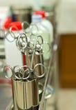 Tijeras para los médicos Fotos de archivo