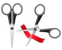 Tijeras que cortan la cinta libre illustration