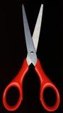 Tijeras rojas imagen de archivo libre de regalías