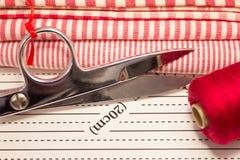 Herramientas para el rojo del remiendo Imagen de archivo