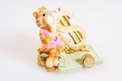 Tijger. Het stuk speelgoed. Royalty-vrije Stock Fotografie