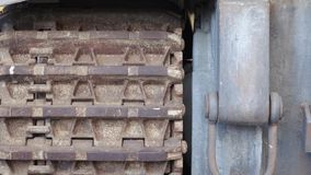 Tijger van de Truckee de Duitse tank stock videobeelden