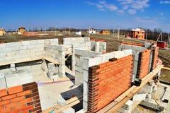Alvenaria-tijolo foto de stock
