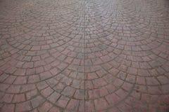 Tijolo cinzento do sem-fim da estrada Imagem de Stock Royalty Free