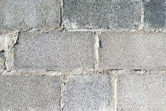 Tijolo concreto Foto de Stock