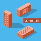 Tijolo de cara isométrico Fotografia de Stock