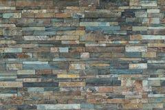 Tijolo de pedra fundo modelado da textura pedra natural abstrata Fotos de Stock