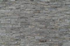Tijolo de pedra fundo modelado da textura pedra natural abstrata Imagens de Stock