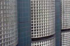 Tijolo de vidro e telha Fotografia de Stock Royalty Free