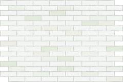 Tijolo do branco da parede. Fundo. ilustração stock