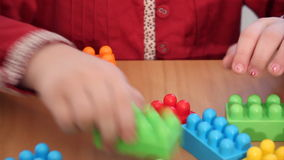 Tijolo do brinquedo video estoque