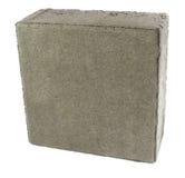 Tijolo do pavimento, isolado Bloco de cimento para pavimentar imagem de stock