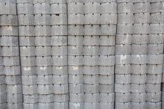 Tijolo e almofariz Fotografia de Stock