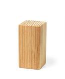 Tijolo incolor de madeira natural Imagem de Stock Royalty Free