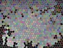 Tijolo-Mosiac-teste padrão Imagens de Stock Royalty Free