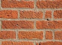 Tijolo na parede, parede de tijolo vermelho Imagem de Stock Royalty Free