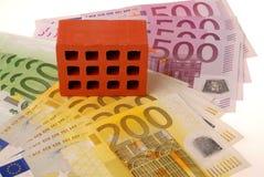 Tijolo um dinheiro 2 Foto de Stock Royalty Free