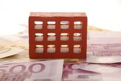 Tijolo um dinheiro 5 Imagem de Stock Royalty Free