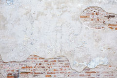 Tijolo velho da parede da rua Fotos de Stock Royalty Free