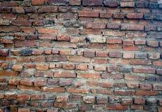 Tijolo velho a parede grande Imagens de Stock Royalty Free