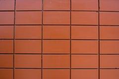 Tijolo vermelho Fotografia de Stock