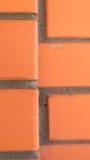 Tijolo vermelho da textura Imagem de Stock