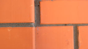 Tijolo vermelho da textura Fotografia de Stock Royalty Free
