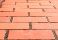 Tijolo vermelho da textura Foto de Stock