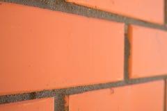 Tijolo vermelho da textura Fotografia de Stock