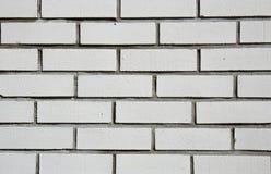 Tijolos brancos Fotos de Stock
